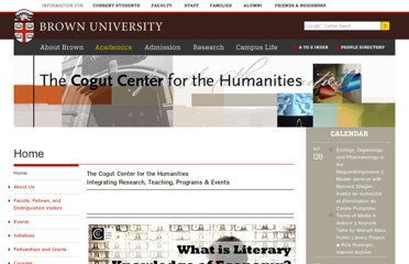 http://www.brown.edu/Departments/Humanities_Center/fellows/levin.html
