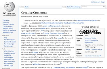 http://en.wikipedia.org/wiki/Creative_Commons