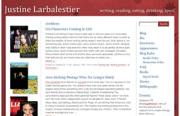 http://justinelarbalestier.com/blog/category/writing-process/
