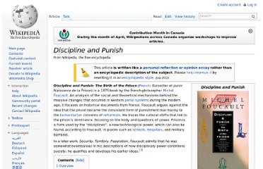 http://en.wikipedia.org/wiki/Discipline_and_Punish