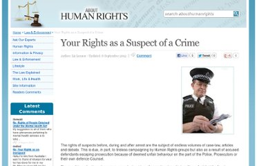 http://www.abouthumanrights.co.uk/your-rights-when-suspect-crime.html