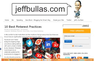 http://www.jeffbullas.com/2012/09/10/10-best-pinterest-practices/