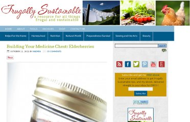 http://frugallysustainable.com/2011/10/building-your-medicine-chest/