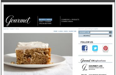 http://www.gourmet.com/recipes/2000s/2009/10/spiced-applesauce-cake-with-cinnamon-cream-cheese-frosting