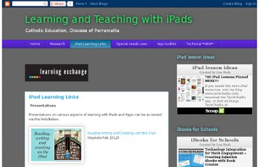 http://learningwithipads.blogspot.com/p/ipad-learning-links.html