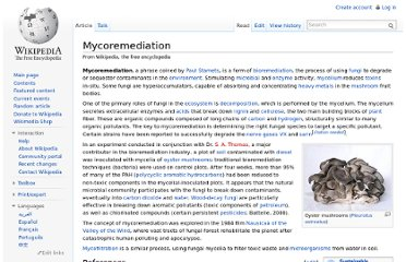 http://en.wikipedia.org/wiki/Mycoremediation