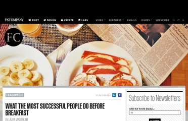 http://www.fastcompany.com/1839987/what-most-successful-people-do-breakfast