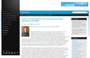 http://www.lhmartininstitute.edu.au/insights-blog/2012/09/98-public-vs-private-benefits-who-should-pay-for-higher-education-in-australia