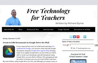 http://www.freetech4teachers.com/2012/09/create-edit-documents-in-google-drive.html#.UE5fyLJmRX9