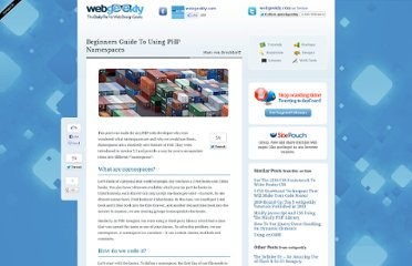 http://www.webgeekly.com/tutorials/php/beginners-guide-to-using-php-namespaces/