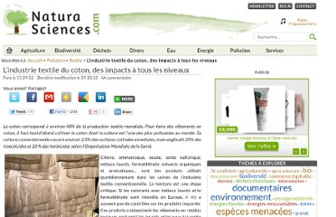 http://www.natura-sciences.com/pollution/textile/impacts-environnementauxindustrie-textile.html
