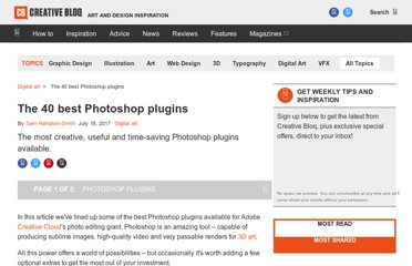 http://www.creativebloq.com/photoshop/best-photoshop-plugins-912722