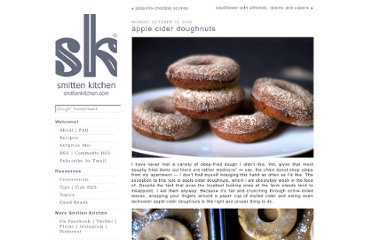 http://smittenkitchen.com/blog/2009/10/apple-cider-doughnuts/