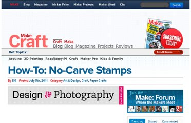 http://blog.makezine.com/craft/how-to_make_no-carve_stamps/