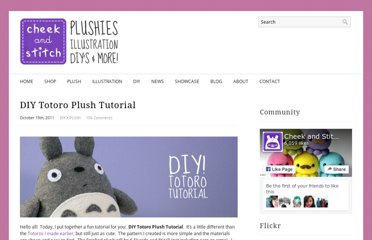 http://cheekandstitch.com/diy-totoro-plush-tutorial/