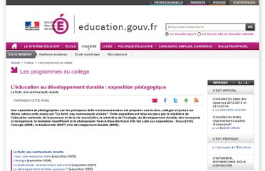 http://www.education.gouv.fr/cid50688/l-education-developpement-durable-expositions-pedagogiques.html#La%20for%C3%AAt,%20une%20communaut%C3%A9%20vivante