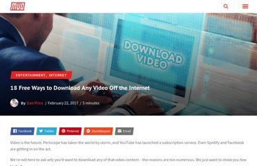http://www.makeuseof.com/tag/18-free-ways-to-download-any-video-off-the-internet/