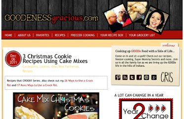 http://goodenessgracious.com/2011/12/3-christmas-cookie-recipes-using-cake-mixes.html