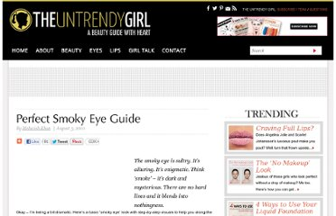 http://theuntrendygirl.com/perfect-smokey-eye-guide.html