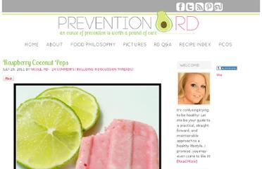 http://www.preventionrd.com/2011/07/raspberry-coconut-pops/