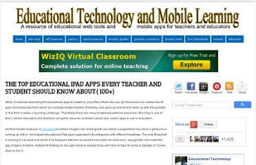 http://www.educatorstechnology.com/2012/08/the-top-educational-ipad-apps-every.html#