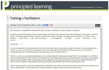 http://www.principledlearning.co.uk/blog/training_v_facilitation