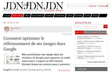 http://www.journaldunet.com/solutions/seo-referencement/seo-pour-google-images.shtml