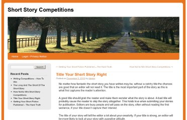 http://shortstorycompetitions.com/title-your-short-story-right/#more-9