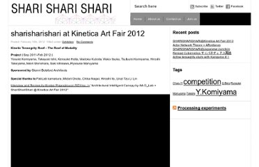 http://sharisharishari.com/2012/02/sharisharishari-at-kinetica-art-fair-2012/