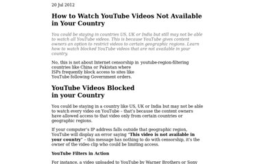 http://www.labnol.org/internet/youtube-blocked-video-not-available-in-your-country/2680/