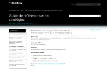 http://docs.blackberry.com/en/admin/deliverables/12263/VoIP_Allow_BB_Device_Changesc_604741_11.jsp