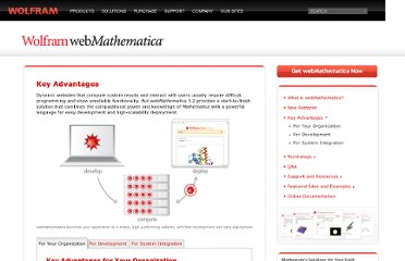 http://www.wolfram.com/products/webmathematica/advantages/