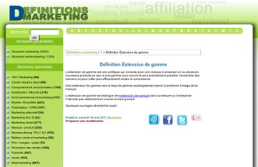 http://www.definitions-marketing.com/Definition-Extension-de-gamme