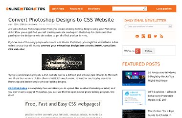 http://www.online-tech-tips.com/web-site-tips/photoshop-to-website/