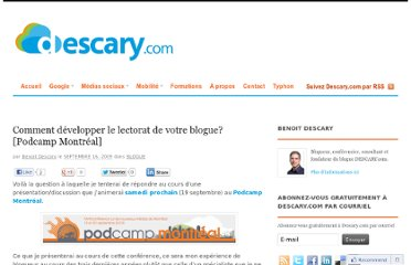 http://descary.com/comment-developper-le-lectorat-de-votre-blogue-podcamp-montreal/