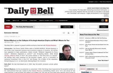 http://www.thedailybell.com/1737/Anthony-Wile-with-Richard-Maybury-on-the-Collapse-of-the-Anglo-Empire-and-What-It-Means-for-You.html