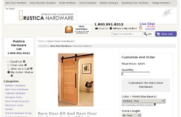 http://rusticahardware.com/barn-door-and-barn-door-hardware-combo-all-in-one/