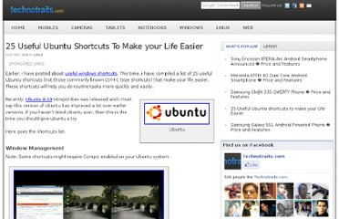 http://www.technotraits.com/2008/11/25-useful-ubuntu-shortcuts/