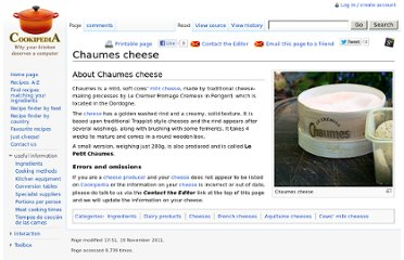 http://www.cookipedia.co.uk/recipes_wiki/Chaumes_cheese