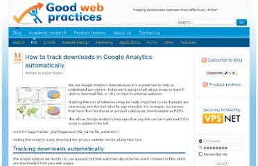 http://www.goodwebpractices.com/roi/track-downloads-in-google-analytics-automatically.html