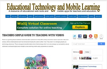 http://www.educatorstechnology.com/2012/09/teachers-simple-guide-to-teaching-with.html
