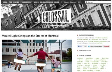 http://www.thisiscolossal.com/2012/09/musical-swings-on-the-streets-of-montreal/