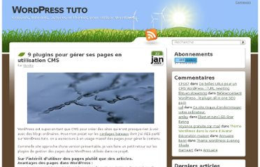http://wordpress-tuto.fr/plugins-pages-utilisation-cms-1394