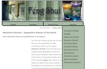 http://www.feng-shui-products-decorating-tips.com/mandarin_strands.htm