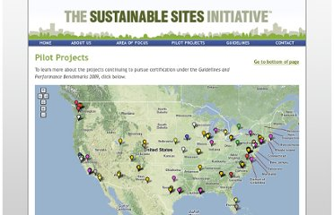 http://www.sustainablesites.org/pilot_projects/