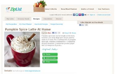 http://www.ziplist.com/recipes/450309-Pumpkin_Spice_Latte_at_Home