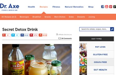 http://www.draxe.com/recipe/secret-detox-drink/