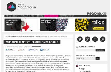http://www.blogdumoderateur.com/zerg-rush-easter-egg-google/