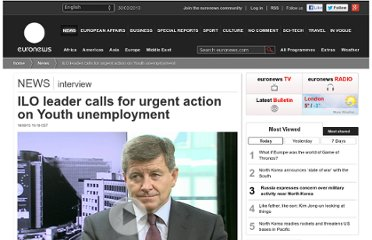 http://www.euronews.com/2012/09/14/ilo-leader-calls-for-urgent-action-on-youth-unemployment/