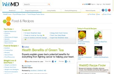 http://www.webmd.com/food-recipes/features/health-benefits-of-green-tea